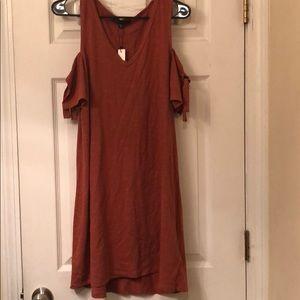 Sanctuary cold-shoulder t-shirt dress